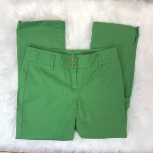 LOFT Green Crop Pant